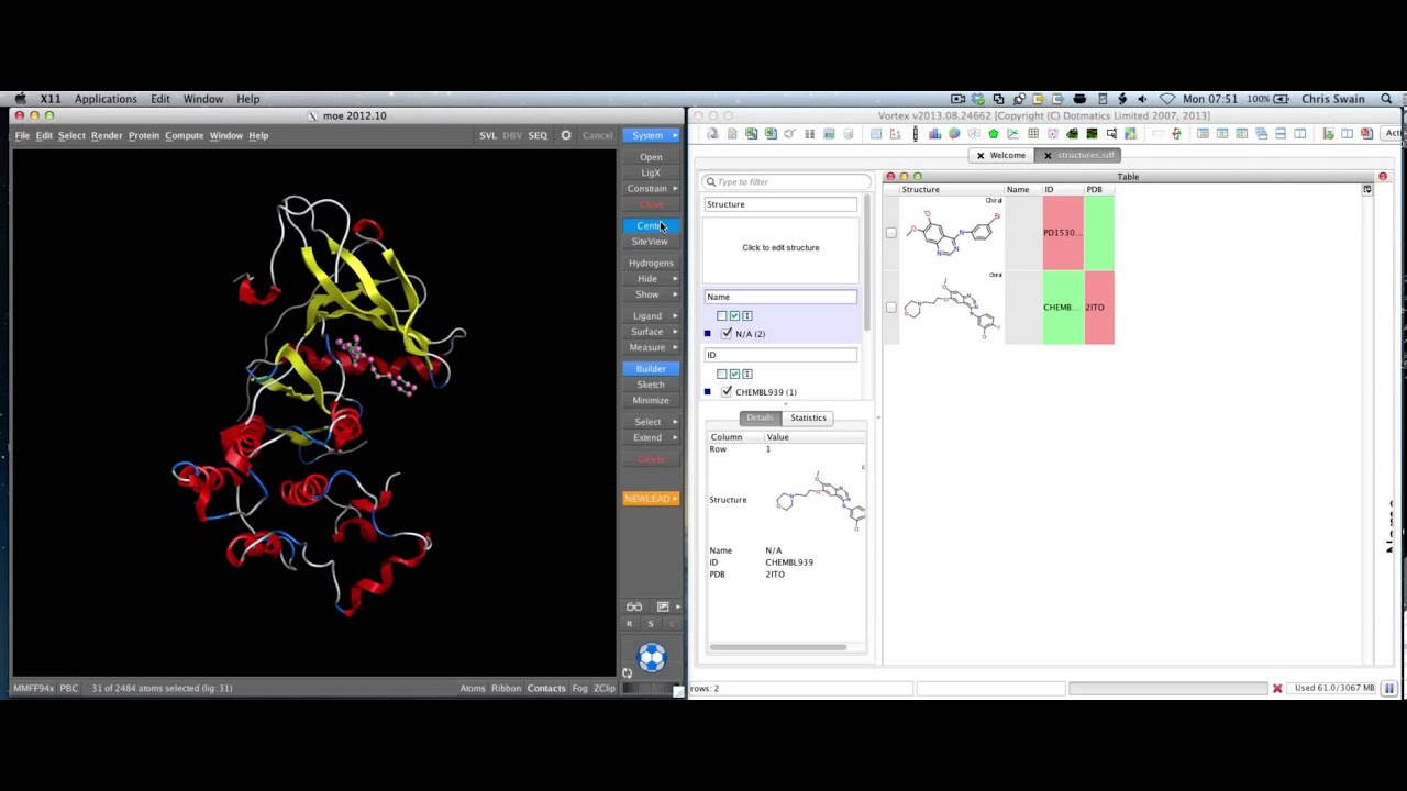 Python | Macs in Chemistry