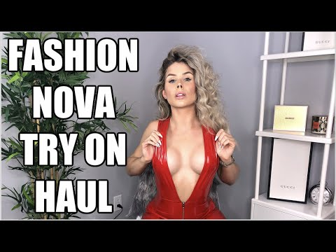 FASHION NOVA | TRY ON HAUL from YouTube · Duration:  20 minutes 59 seconds