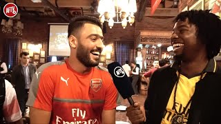 Arsenal Is A Champions League Club! Lumos Meets Fan From Arsenal Iraq Supporters Club
