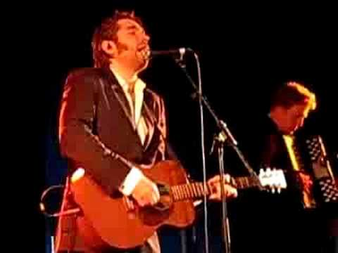 """Justin Currie """"Nothing Ever Happens"""" live at Belladrum Festival 2008"""