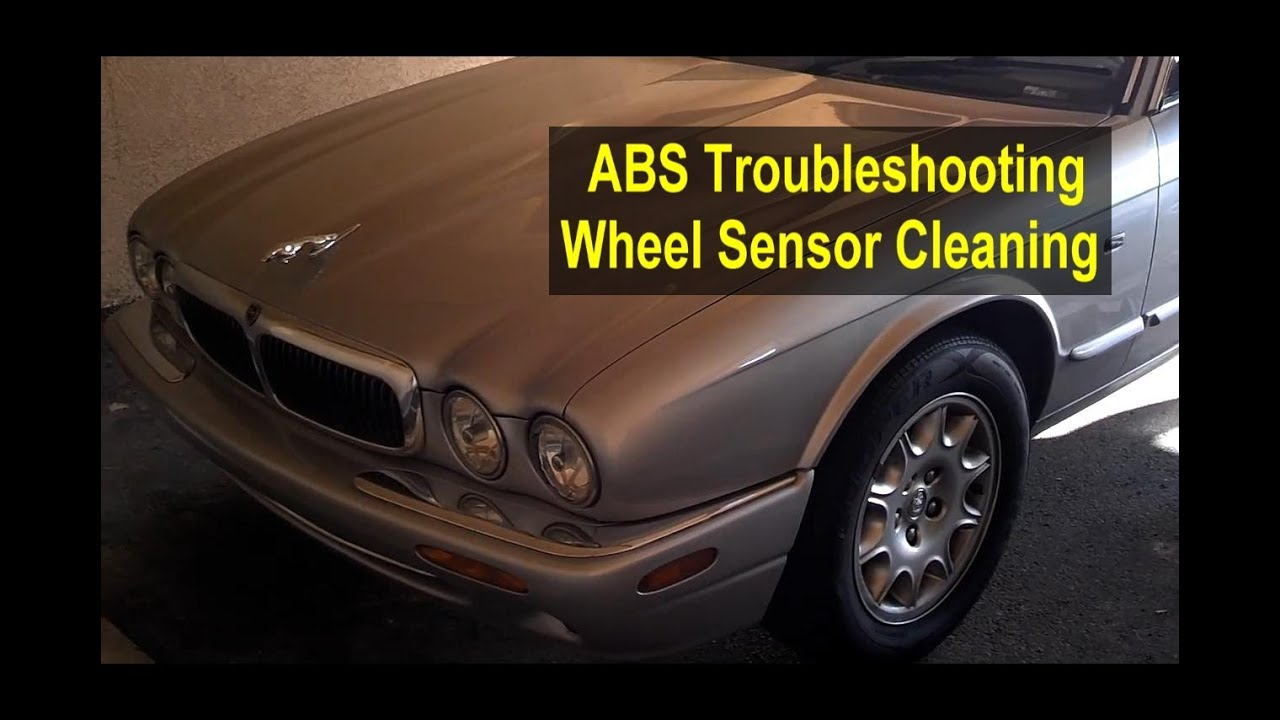 Abs Light Diognostic Repair Wheel Sensor Cleaning Auto Series Wire Harness