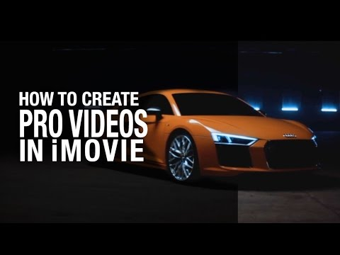 How to create an awesome commercial in iMovie - AUDI R8