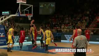MARDRACUS WADE NUERNBERG FALCONS BC GERMANY OFFICIAL 17 18 HIGHLIGHT TAPE