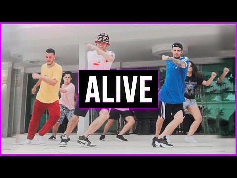 """ALIVE"" (It Feels Like) - Alok [Official Dance Video] | Coreografia Takeshi"