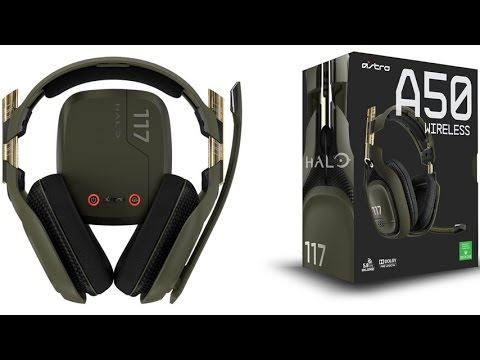 Astro Gaming Halo A50 Wireless Gaming Headset Xbox One Edition With Dolby  7 1 Channel Surround Sound