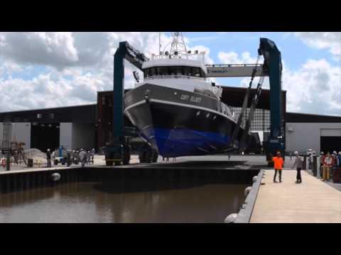 Capt Elliott  Launch @ Gulf Craft