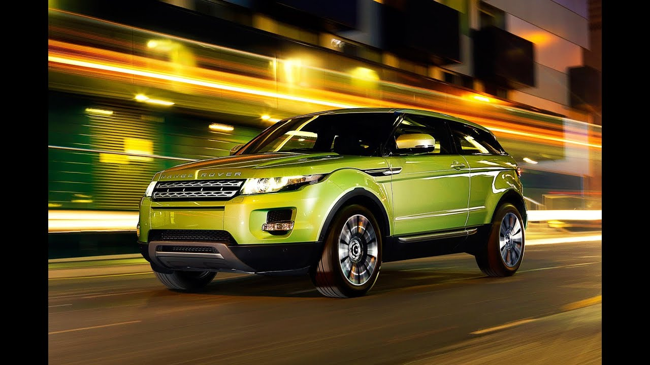 Land Rover Range Rover Evoque 2011 кроссовер
