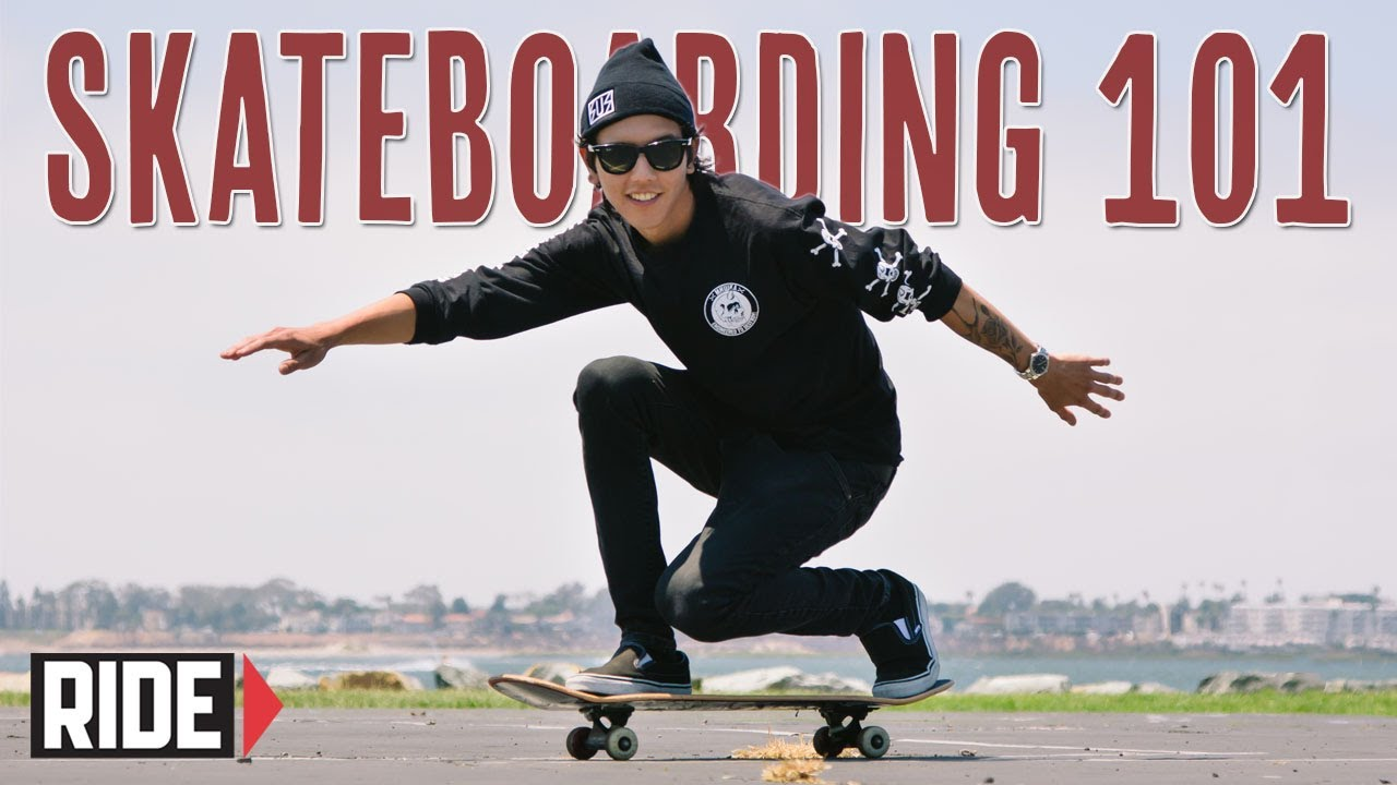 How To Ride A Skateboard Basics With Spencer Nuzzi Youtube