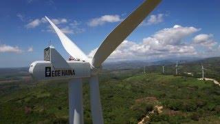 Construcción Parque Eólico Larimar – Enriquillo, Barahona