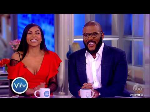 Taraji P. Henson, Tyler Perry Talk Bid Battle With Blue Ivy, Diversity, 'Acrimony' & More  The View