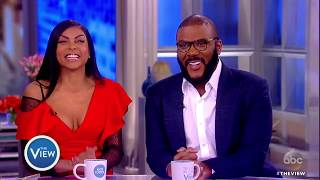 Taraji P. Henson, Tyler Perry Talk Bid Battle With Blue Ivy, Diversity,