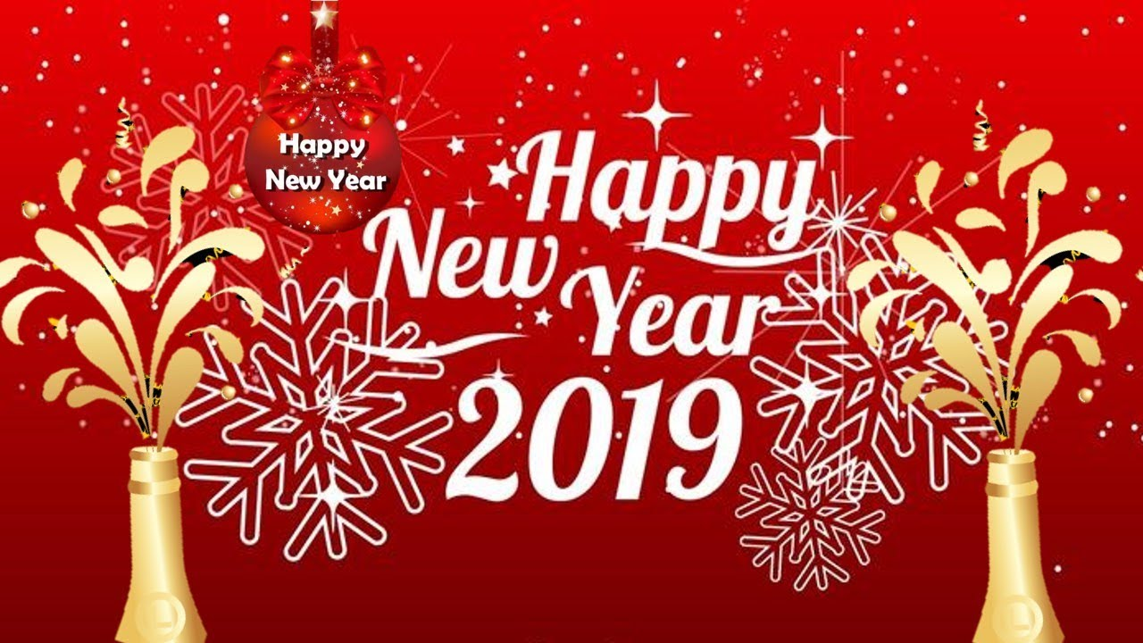 Happy New Year Gif Animated Greeting Cards 2018 App Download Youtube