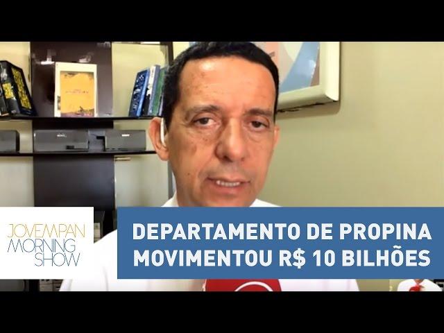 """Departamento de propina movimentou R$ 10 bilhões: """"Isso que é só uma empresa""""   Morning Show"""