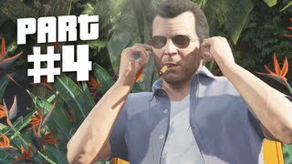 Grand Theft Auto 5 Gameplay Walkthrough Part 4 - Father & Son (GTA 5)
