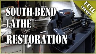 south bend lathe restoration