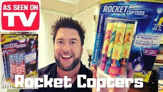 Rocket Copters review: as seen on TV products put to the test. Rocket Copters screenshot 1