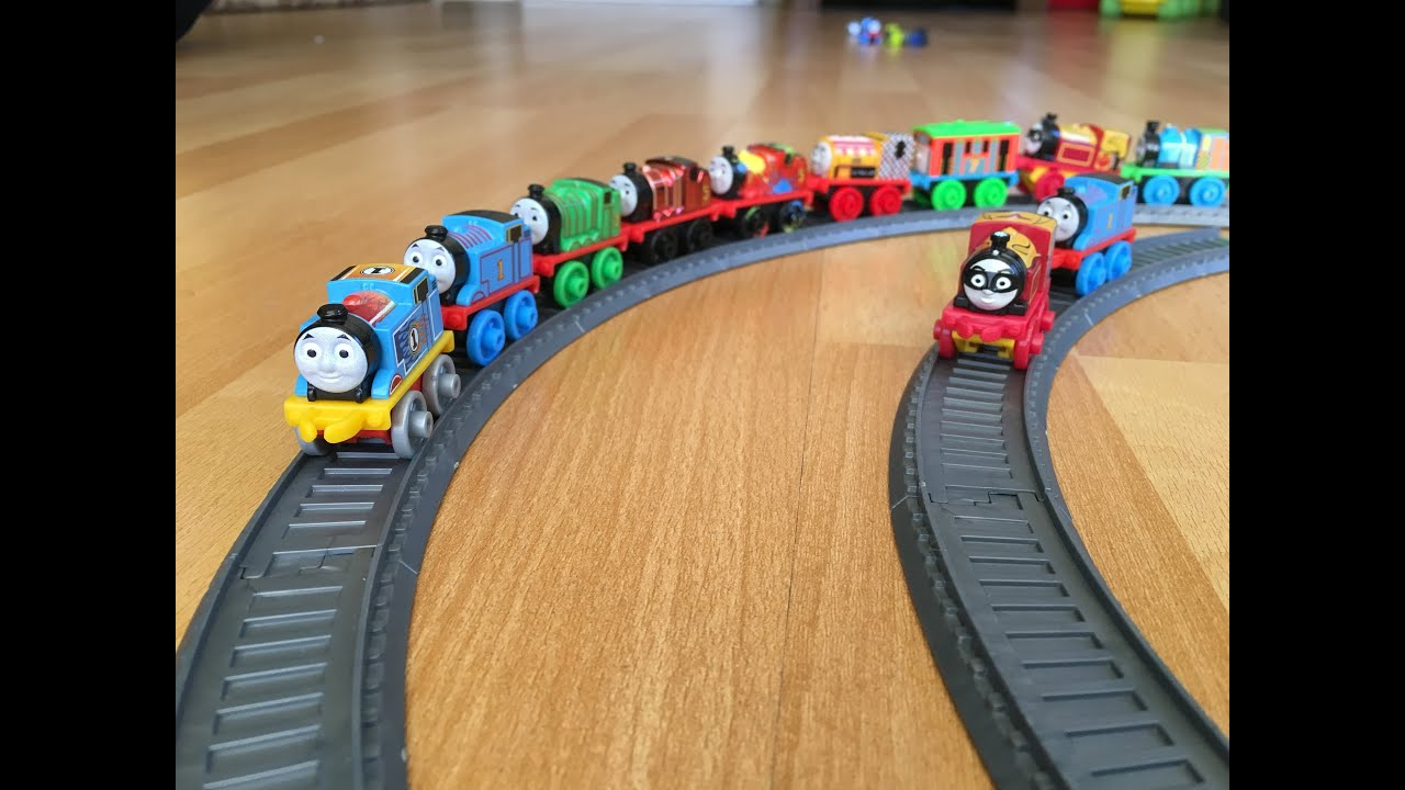 Tracks for Minis of Thomas and Friends Toy Trains - Kids Park Mini City - Play doh ice cream maker