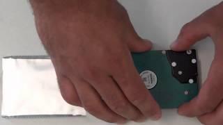 Toshiba de la serie Netbook NB510: Sustitución de disco duro