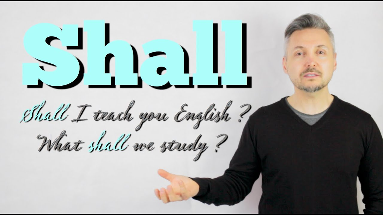 Download Lesson on how to use modal verb SHALL (Shall we go out this evening?)