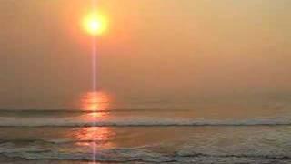 San Diego Fires - Sunset at Fletcher Cove, Solana Beach, CA