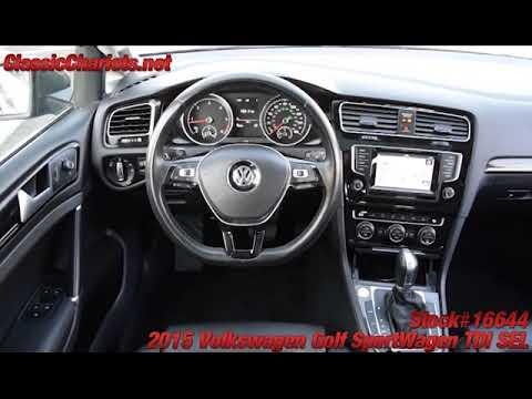 Used 2015 Volkswagen Golf SportWagen TDI SEL -16644