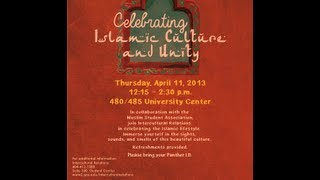Islamic Culture Fair And Unity 2013