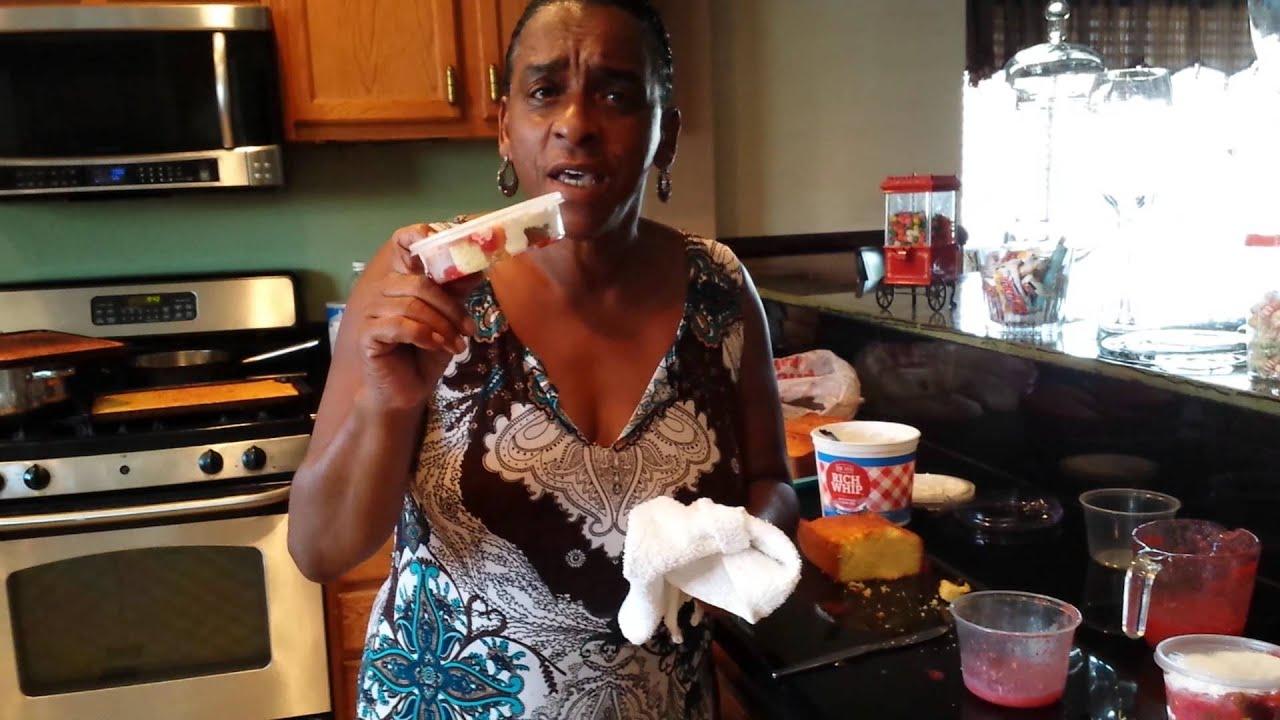 auntie fee u0026 39 s strawberry short cake part 1