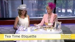 Royal Tea Party Etiquette on Arizona Midday, Channel 12, Phoenix
