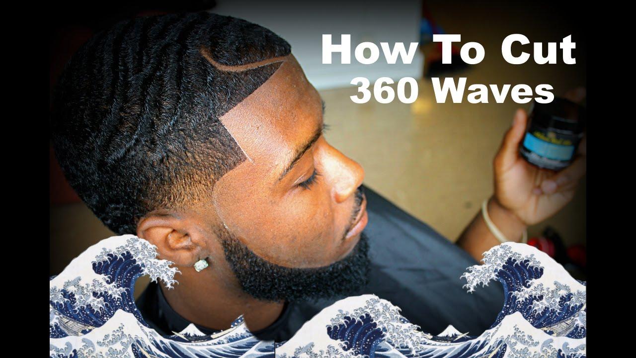 barber tutorial cut 360