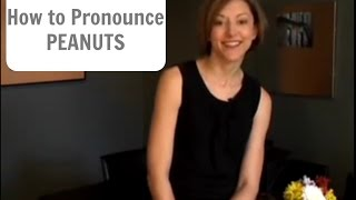 How to pronounce PEANUTS (not penis) - American English Pronunciation Lesson