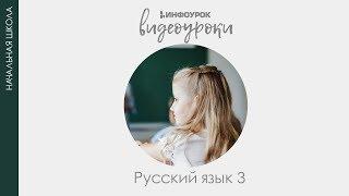 Части речи | Русский язык 3 класс #5 | Инфоурок