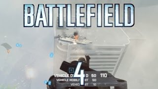 Only in Battlefield 4: Boat on the Roof