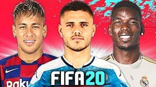 SUPER NAPOLI con ICARDI & LOZANO! 🔥 TOP 10 TRASFERIMENTI FIFA 20 - ESTATE 2019   Balotelli, Pogba