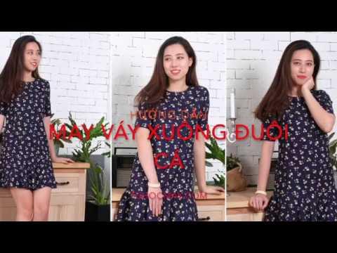Hướng Dẫn May Váy Xuông đuôi Cá - Sewing Dress