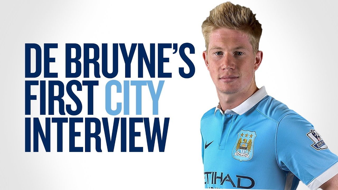'My girlfriend is happy!' – Kevin De Bruyne welcomed to Manchester City in special video