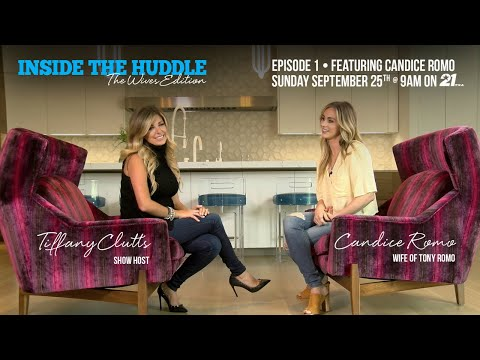 Inside the Huddle Cowboys Live The Wives Edition   Host Tiffany Clutts & Candice Romo   NFL Wives