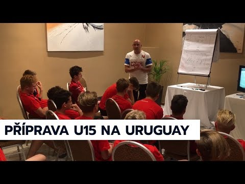 Příprava U15 na Uruguay