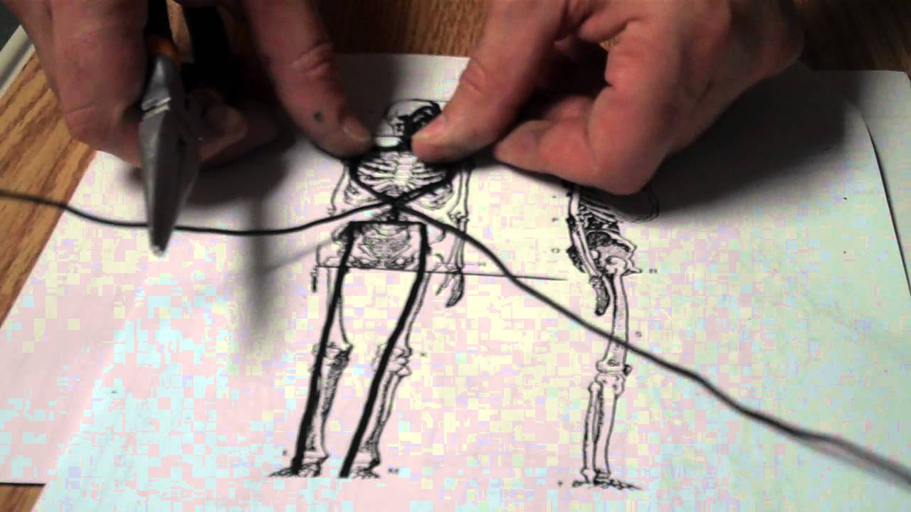 Vigardt Wire Figure Armature Demo 1