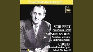 Variations sérieuses, Op. 54 - Variation XVI: Allegro vivace