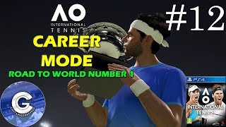 Let's Play AO International Tennis | Career Mode #12 | DISASTER! PLEASE WATCH | IMPORTANT UPDATE!