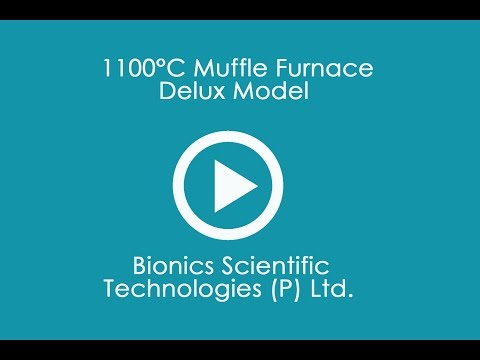 1100°C Muffle Furnace Delux Model