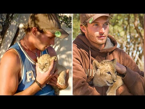 This Female Lion Cub Was Abandoned By Her Pride, You Won't Believe Her New Foster