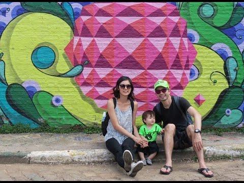 Sao Paulo Vlog: Beco do Batman, Funny Hair Baby Salon!