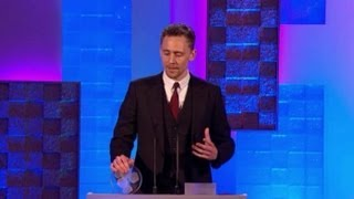 Tom Hiddleston Full Acceptance Speech at South Bank Sky Arts Awards 2013