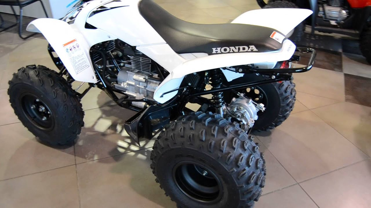 2016 Honda TRX250X White For Sale Freedom Powersports Fort