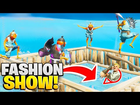 WE *EXTREME* SKY BASED OVER STREAMERS FASHION SHOWS!