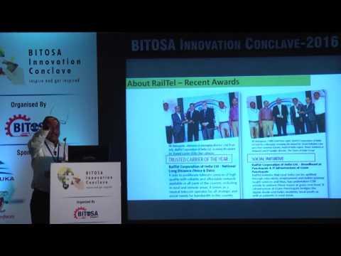 BIC2016: Pradeep Kumar,  Exec Director, RailTel