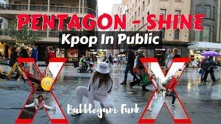 [Kpop in Public - dancing in the mall] PENTAGON(펜타곤) _ Shine(빛나리)