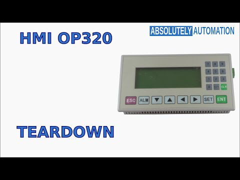 How to Open and See What's Inside an HMI OP 320 Teardown: 4 Steps