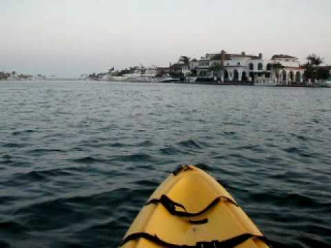 Kayaking At Sunset Beach In Huntington